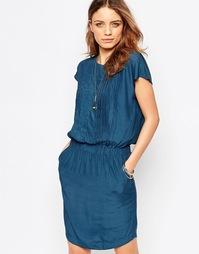 Панельное платье Y.A.S Birch - Сине-зеленый