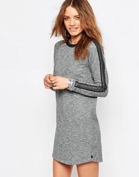Платье-футболка с подвернутыми рукавами Maison Scotch - Gy1