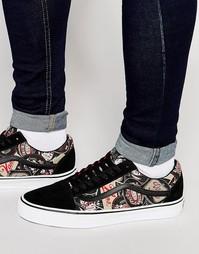 Черные кроссовки Vans Old Skool V3Z6IRQ - Черный