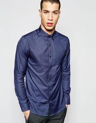 Рубашка зауженного кроя Selected Homme - Винтажный индиго