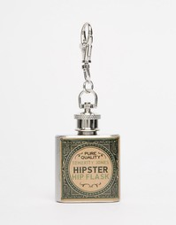 Кольцо для ключей с фляжкой Temerity Jones Gentleman's - Мульти