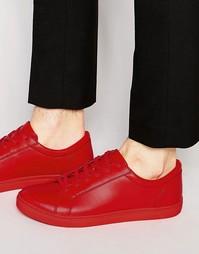 Красные кроссовки ASOS - Красный