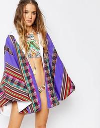 Накидка-полотенце Pitusa Inca - Лаванда