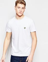 Серая футболка в полоску Lyle & Scott - Серый