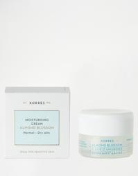 Увлажняющий крем с цветами миндаля для нормальной и сухой кожи, 40 мл Korres