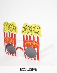 Солнцезащитные очки в виде пакета с попкорном NPW - Мульти