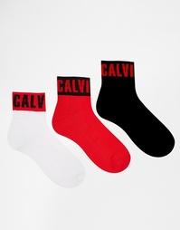 3 пары носков Calvin Klein - Мульти