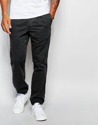 Стретчевые парусиновые штаны для бега с манжетами Abercrombie & Fitch