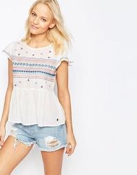 Блузка с вышивкой Pepe Jeans - 808mousse