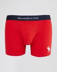 Красные боксеры-брифы Abercrombie & Fitch - Красный
