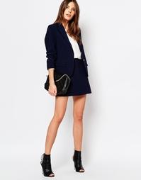 Мини‑юбка с карманами Vila - Темно-синий