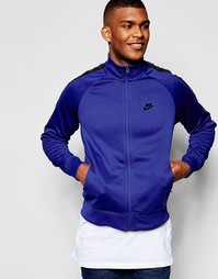 Темно-синяя ветровка Nike Tribute 678626-455 - Темно-синий