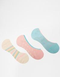 3 пар носков в горошек Penguin - Pastel spot
