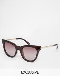 Солнцезащитные очки кошачий глаз Le Specs Exclusive Le Debutante