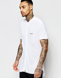 Рубашка с воротником на пуговицах Illusive London - Белый