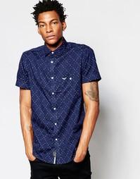 Рубашка с короткими рукавами и принтом Threadbare Sanibel