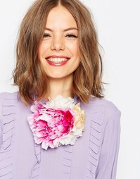 Цветочная заколка для волос и украшение ASOS - Мульти