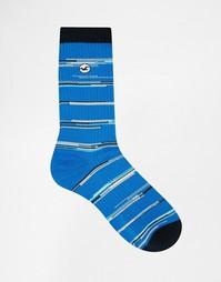 Меланжевые носки Hollister - Синий
