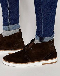 Замшевые ботинки чукка Lyle & Scott Brack - Коричневый