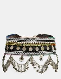 Пояс с подвесками-монетками Reclaimed Vintage - Мульти