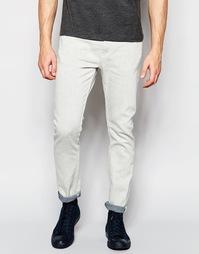 Белые стретчевые джинсы скинни Weekday Friday - Reply
