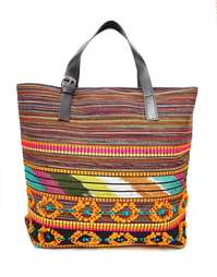 Пляжная сумка с вышивкой Becksondergaard - Оранжевый