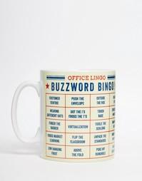 Кружка с принтом Brainbox Candy Buzzword Bingo - Мульти Gifts
