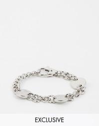 Браслет с монетками Chained & Able - Серебряный