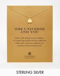 Позолоченное ожерелье с Буддой Dogeared - Золотой