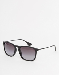 Квадратные солнцезащитные очки Ray-Ban Chris - Черный