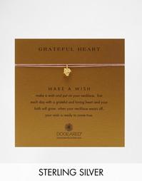 Позолоченное ожерелье Dogeared Grateful Heart