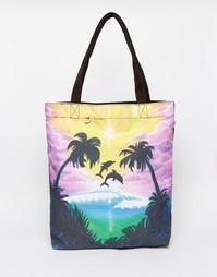 Пляжная сумка с принтом Vans - Мульти