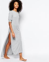 Длинная ночная сорочка Chelsea Peers - Серый