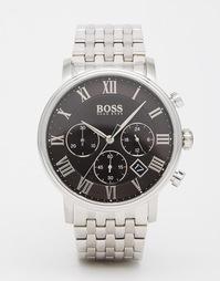 Cеребряные часы с хронографом Hugo Boss 1513323 - Серебряный