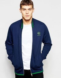 Синяя спортивная куртка Reebok Club AK0722 - Синий
