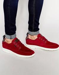 Красные кроссовки Vans Brigata Lite V4OTIVD - Красный