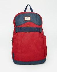 Красный рюкзак Vans Authentic II VUQCJ54 - Красный
