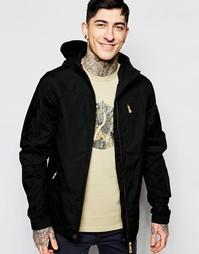 Куртка на молнии с капюшоном Fjallraven Sten - Черный