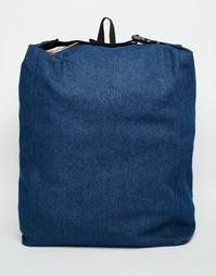 Синий джинсовый рюкзак ASOS - Indigo - индиго