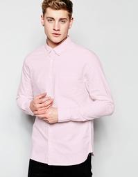 Оксфордская рубашка с воротником на пуговицах Bellfield - Розовый