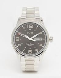 Серебряные наручные часы Hugo Boss 1513327 - Серебряный
