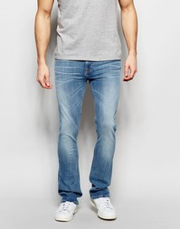 Джинсы с легким клешем и выбеленным эффектом Nudie Jeans - Fade away