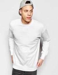 Свитшот со слоганом Izzue - Белый