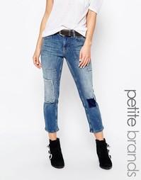 Укороченные джинсы в стиле пэчворк Vero Moda Petite - Деним