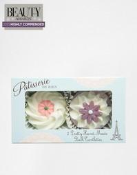2 тарталетки для ванны ручной работы Rose & Co - Fairy cakes Beauty Extras