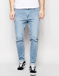 Зауженные светлые джинсы Dr Denim Snap - Светло-голубой