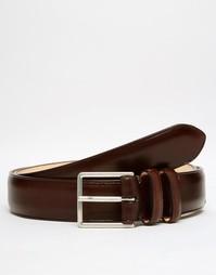 Классический кожаный ремень Paul Smith - Коричневый