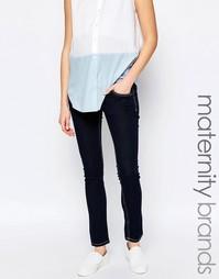 Эластичные джинсы скинни Isabella Oliver - Синий