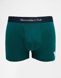 Зеленые боксеры-брифы Abercrombie & Fitch - Зеленый