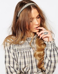 Повязка на голову с бисером Glamorous - Золотой